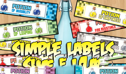 Simple-Labels-Mod Simple Labels Mod 1.10.2/1.9/1.8.9/1.7.10