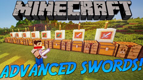 advanced-swords-mod-1-11-21-10-2-advanced-combat Advanced Swords Mod 1.11.2/1.10.2 (Advanced Combat)