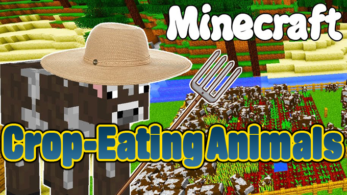 Crop-Eating Animals Mod
