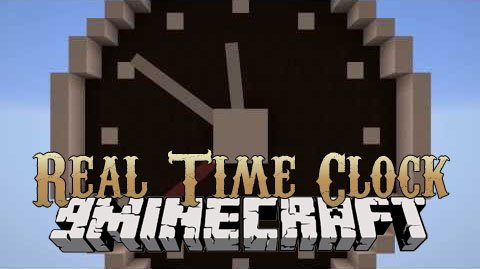real-time-clock-mod-1-11-21-10-2-for-minecraft Real Time Clock Mod 1.11.2/1.10.2 for Minecraft