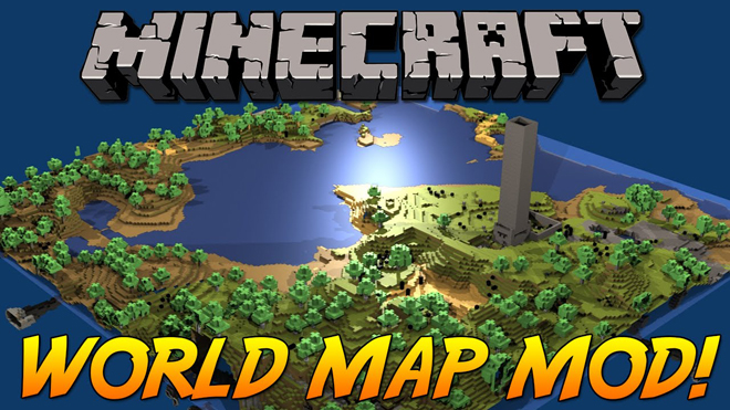 world-map-mod-1-11-21-10-21-7-10 World Map Mod 1.11.2/1.10.2/1.7.10