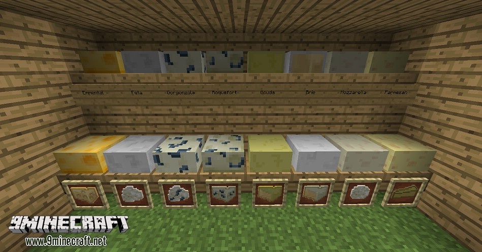1487412290_437_cheese-mod-1-11-21-7-10-enjoy-the-best-cheeses Cheese Mod 1.11.2/1.7.10 (Enjoy the Best Cheeses)