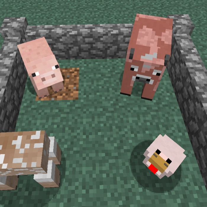 1487530588_345_more-shearables-mod-1-11-21-10-2-shear-chicken-cows-pigs More Shearables Mod 1.11.2/1.10.2 (Shear Chicken, Cows, Pigs)