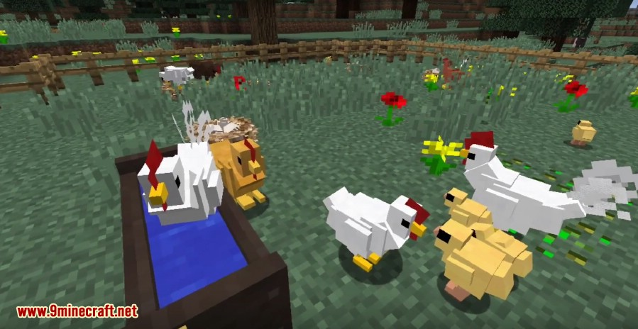 1487574389_34_animania-mod-1-10-2-new-chickens-cows-pigs-ferrets Animania Mod 1.10.2 (New Chickens, Cows, Pigs, Ferrets)