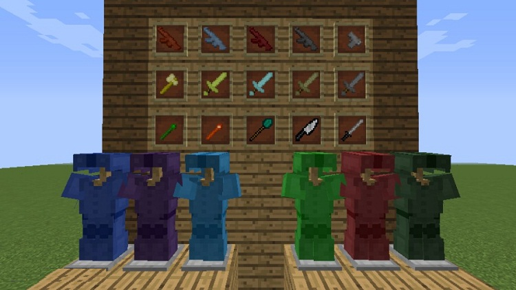 Special-Weapons-and-Armor-Mod-1 Special Weapons and Armors Mod 1.10.2/1.9.4