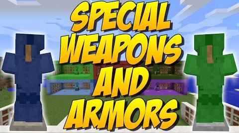 Special-Weapons-and-Armor-Mod Special Weapons and Armors Mod 1.10.2/1.9.4