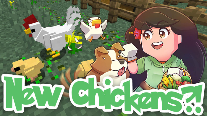 animania-mod-1-10-2-new-chickens-cows-pigs-ferrets Animania Mod 1.10.2 (New Chickens, Cows, Pigs, Ferrets)