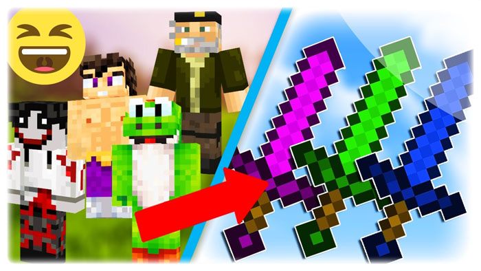 youtuber-swords-mod-1-7-10-vegetta777-sarinha Youtuber Swords Mod 1.7.10 (VEGETTA777, Sarinha…)