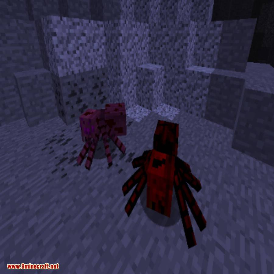 Much More Spiders Reborn Mod 1