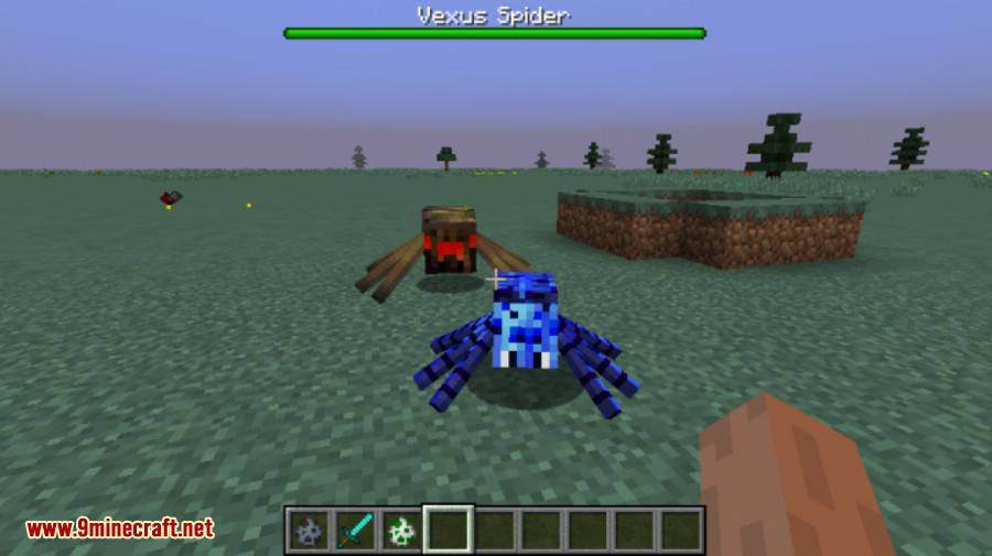 Much More Spiders Reborn Mod 7
