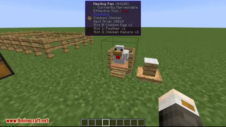 1489442065_379_more-chickens-mod-1-10-2-for-minecraft More Chickens Mod 1.10.2 for Minecraft