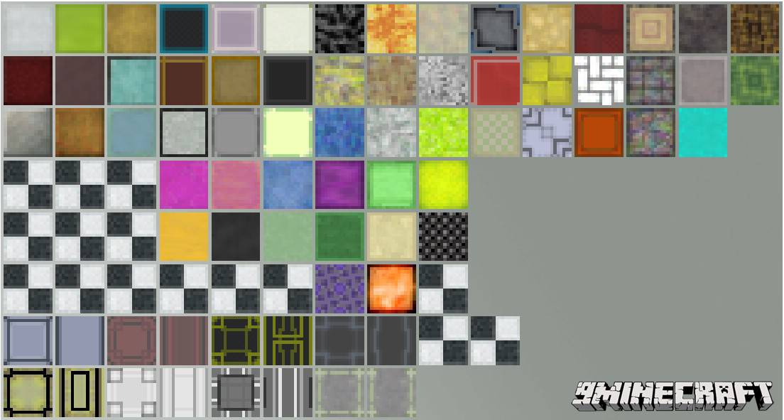 1489581290_315_ztones-mod-1-7-10-decorative-blocks Ztones Mod 1.7.10 (Decorative Blocks)