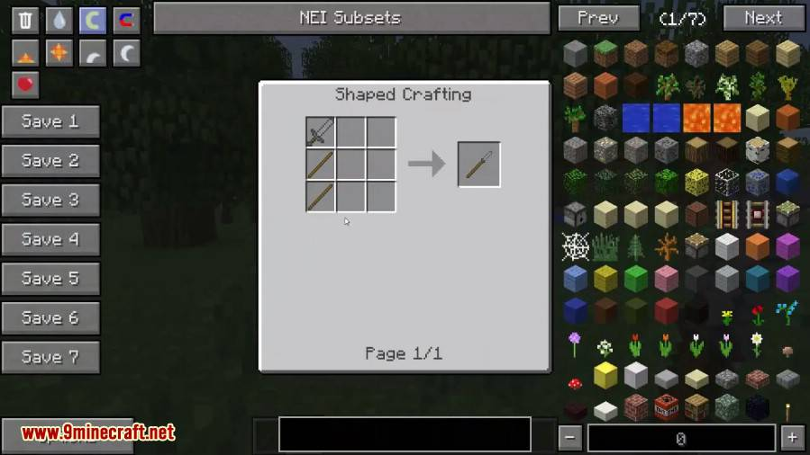 1489734722_632_polearms-mod-1-7-10-extended-reach-weapons Polearms Mod 1.7.10 (Extended Reach Weapons)