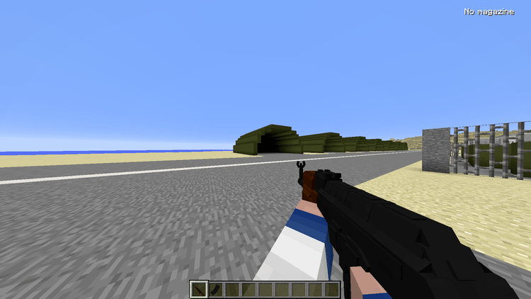 Vics Modern Warfare Mod for minecraft 01