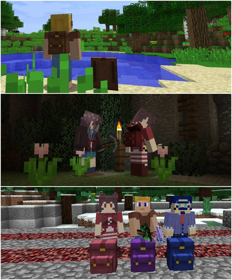 1490042975_364_wearable-backpacks-mod-1-11-21-10-2-for-minecraft Wearable Backpacks Mod 1.11.2/1.10.2 for Minecraft