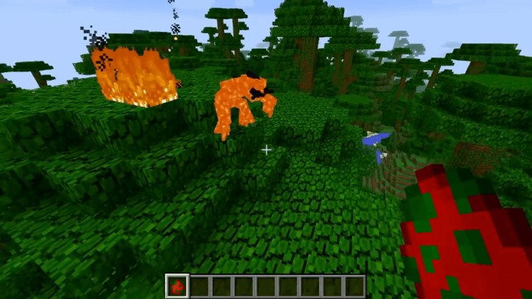 Magma Monsters mod for minecraft 2