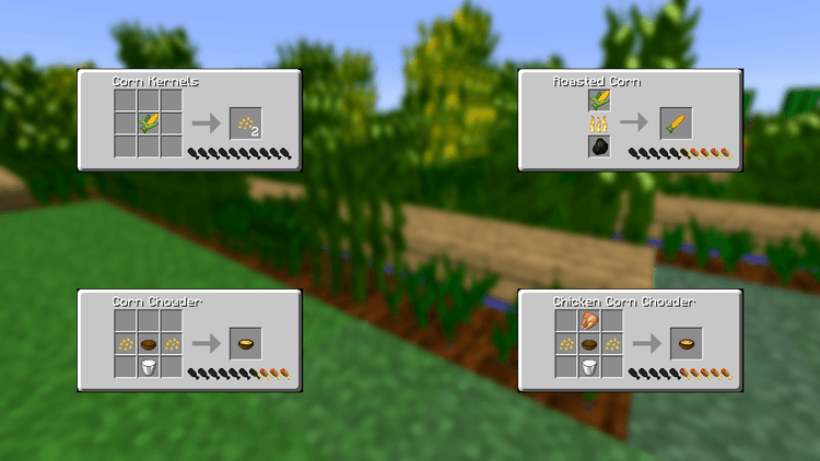 1490418668_300_simple-corn-mod-1-11-21-10-2-for-minecraft Simple Corn Mod 1.11.2/1.10.2 for Minecraft