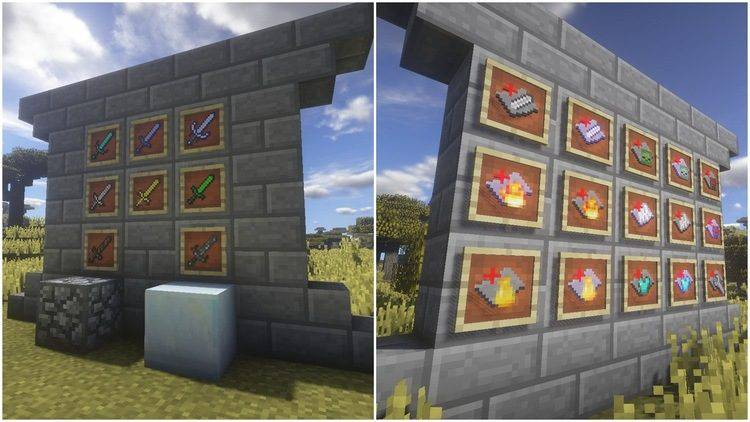 1490541404_945_advanced-swords-mod-1-11-21-10-2-for-minecraft Advanced Swords Mod 1.11.2/1.10.2 for Minecraft