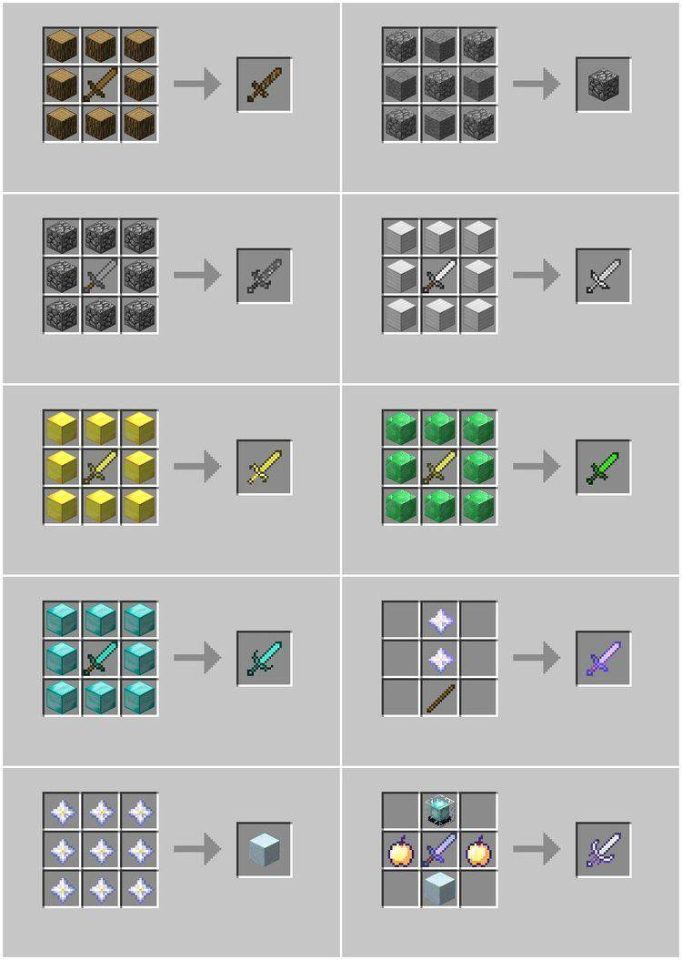Advanced Swords Mod for Minecraft 03