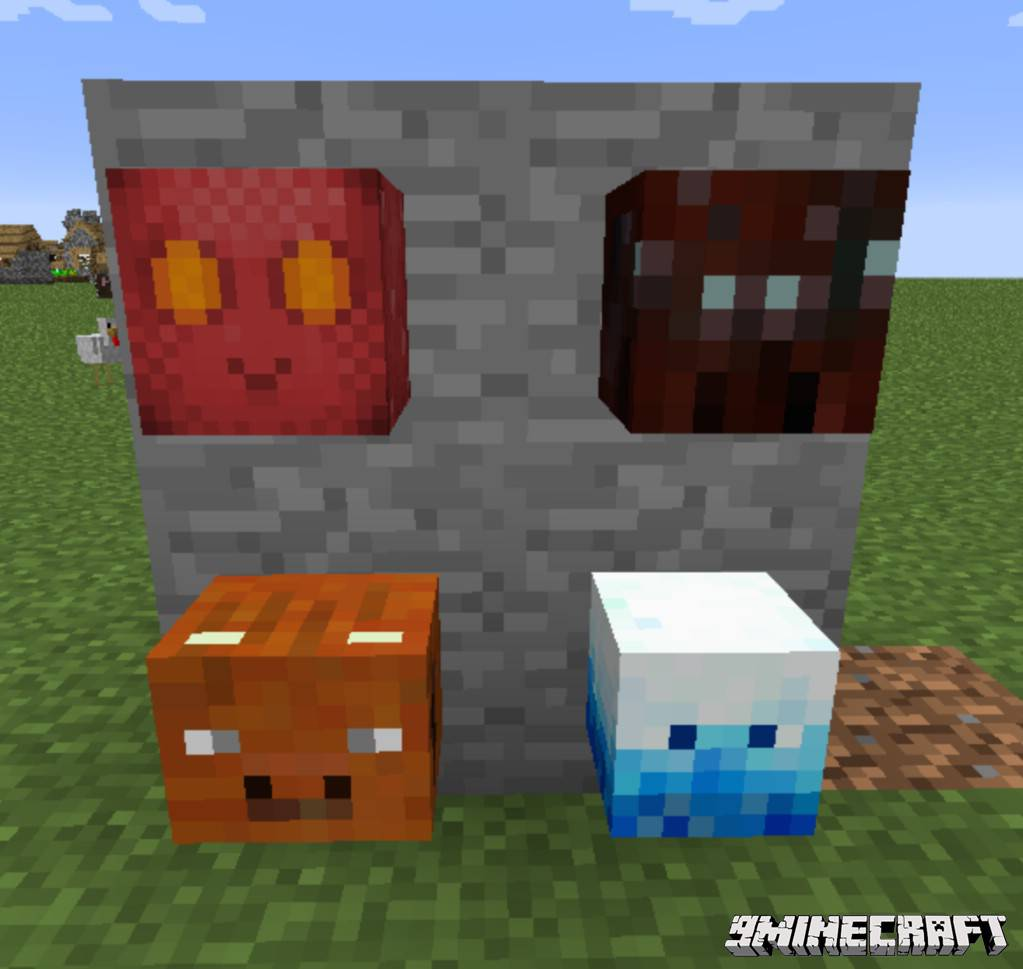 1490606614_298_headcrumbs-mod-1-10-21-7-10-youtuber-mobs-heads Headcrumbs Mod 1.10.2/1.7.10 (Youtuber, Mobs Heads)