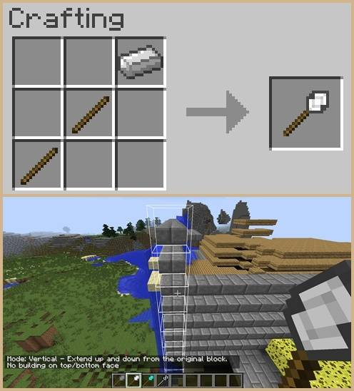 Better Builder's Wands Mod for Minecraft 2