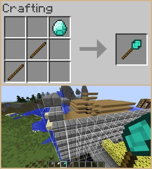 Better Builder's Wands Mod for Minecraft 3