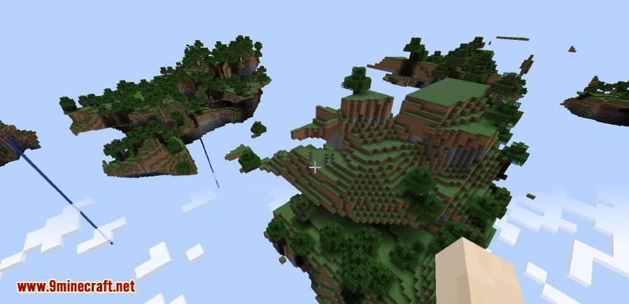 1490687296_249_skylands-mod-1-10-2-sky-dimension Skylands Mod 1.10.2 (Sky Dimension)