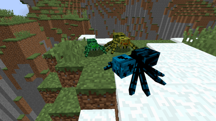 1490872142_626_much-more-spider-v2-mod-1-11-21-10-2-for-minecraft Much More Spider v2 Mod 1.11.2/1.10.2 for Minecraft