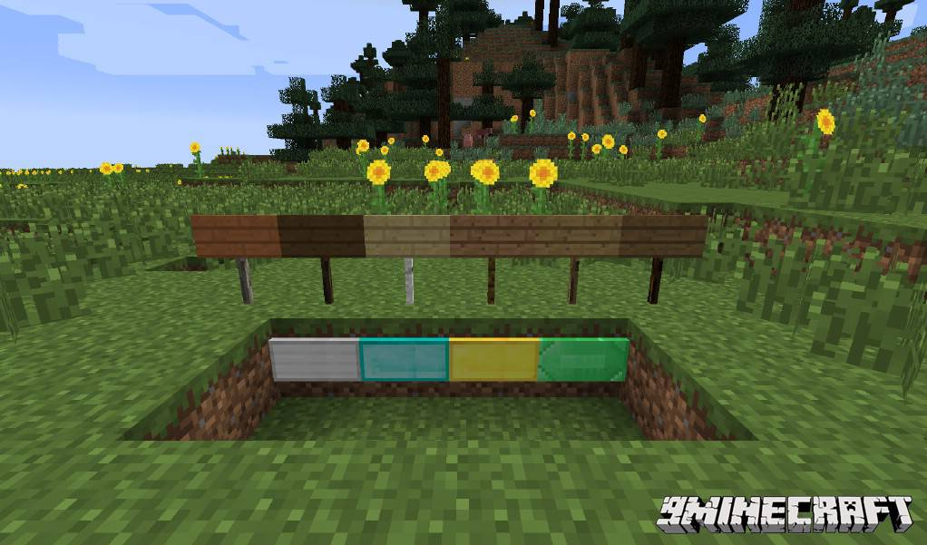1490889934_951_moarsigns-mod-1-10-21-7-10-emerald-diamond-signs MoarSigns Mod 1.10.2/1.7.10 (Emerald, Diamond Signs)