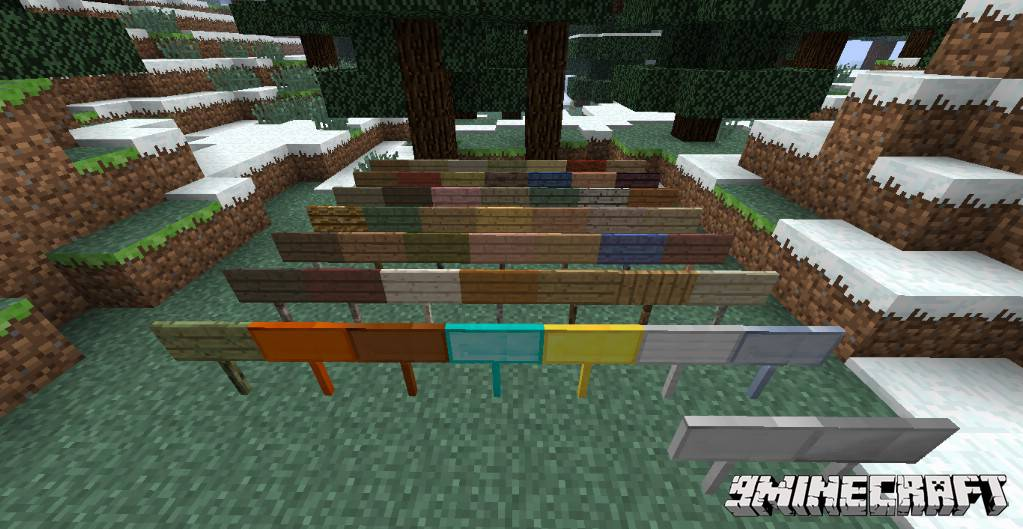 1490889935_226_moarsigns-mod-1-10-21-7-10-emerald-diamond-signs MoarSigns Mod 1.10.2/1.7.10 (Emerald, Diamond Signs)