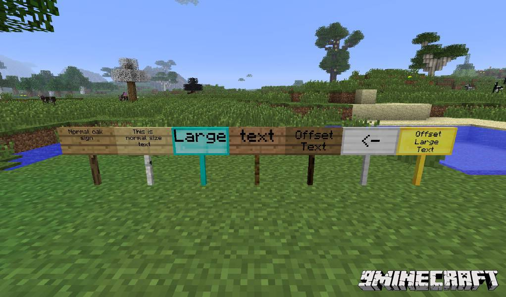 1490889936_650_moarsigns-mod-1-10-21-7-10-emerald-diamond-signs MoarSigns Mod 1.10.2/1.7.10 (Emerald, Diamond Signs)