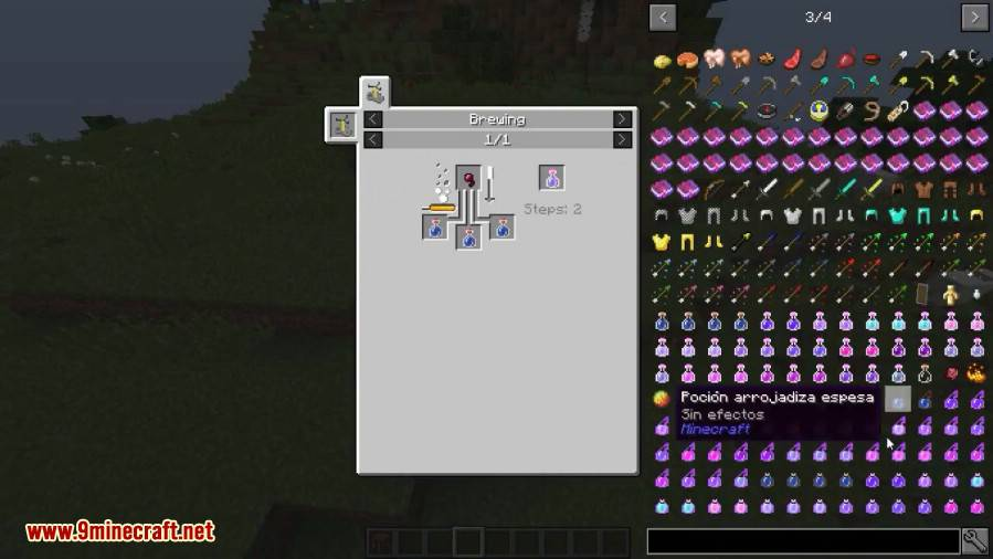 Combined Potions Mod 1