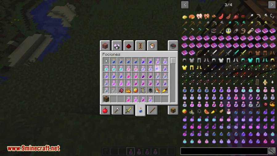 Combined Potions Mod 3