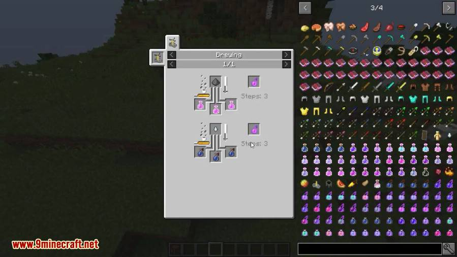 Combined Potions Mod 2