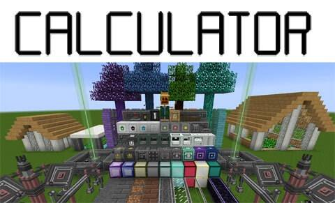 Calculator-Mod Calculator Mod 1.10.2/1.9.4/1.8.9