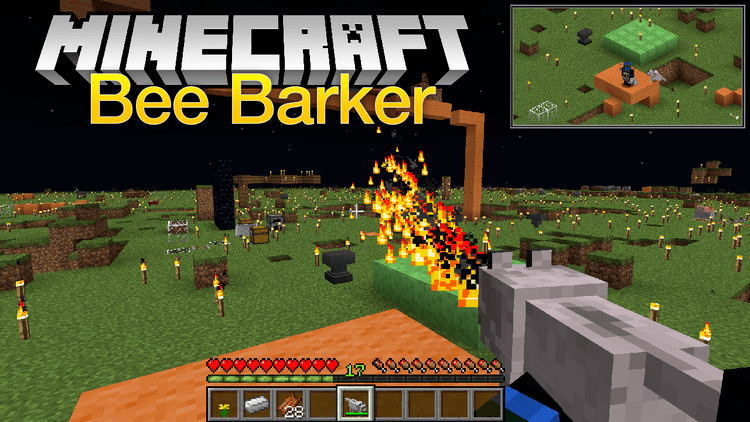 bee-barker-mod-1-11-21-10-2-for-minecraft Bee Barker Mod 1.11.2/1.10.2 for Minecraft