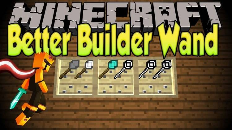 Better Builder's Wands Mod for Minecraft Logo
