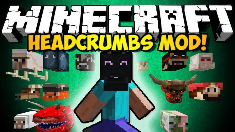 headcrumbs-mod-1-11-21-10-2-for-minecraft Headcrumbs Mod 1.11.2/1.10.2 for Minecraft