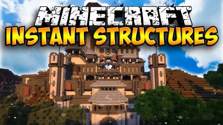 instant-structures-mod-1-11-21-10-2-for-minecraft Instant Structures Mod 1.12.2/1.11.2 for Minecraft