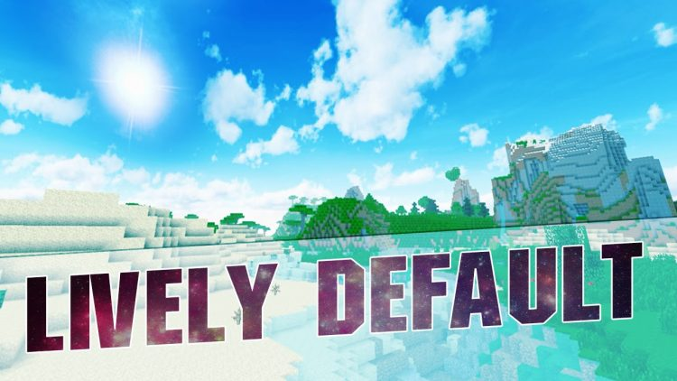 Lively Default Resource pack Logo