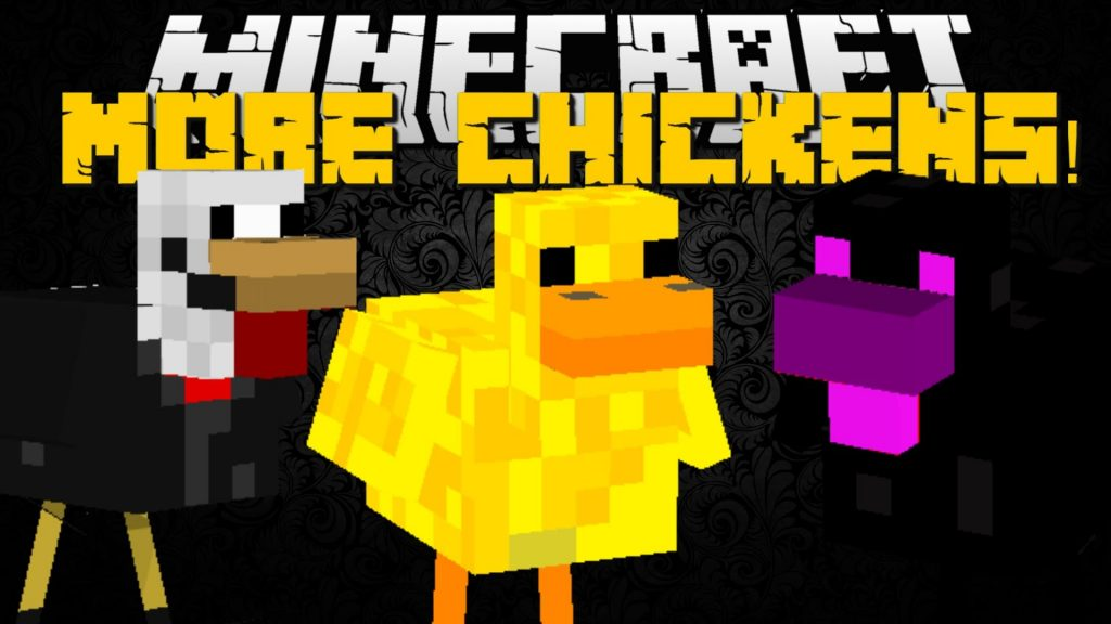 more-chickens-mod-1-10-2-for-minecraft More Chickens Mod 1.10.2 for Minecraft