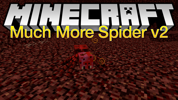 much-more-spider-v2-mod-1-11-21-10-2-for-minecraft Much More Spider v2 Mod 1.11.2/1.10.2 for Minecraft