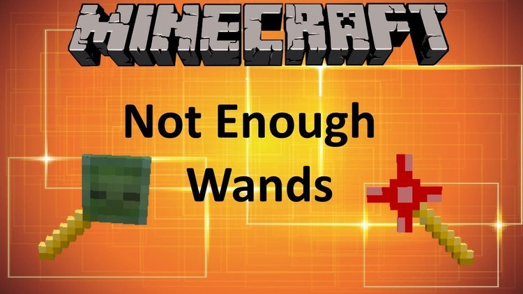 Not Enough Wands Mod for Minecraft Logo