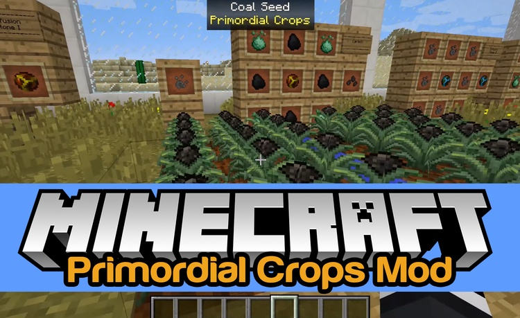 "primordial-crops-mod-1-11-21-10-2-ores-plant-for-minecraft Primordial Crops Mod 1.11.2/1.10.2 – Ores ""Plant"" for Minecraft"