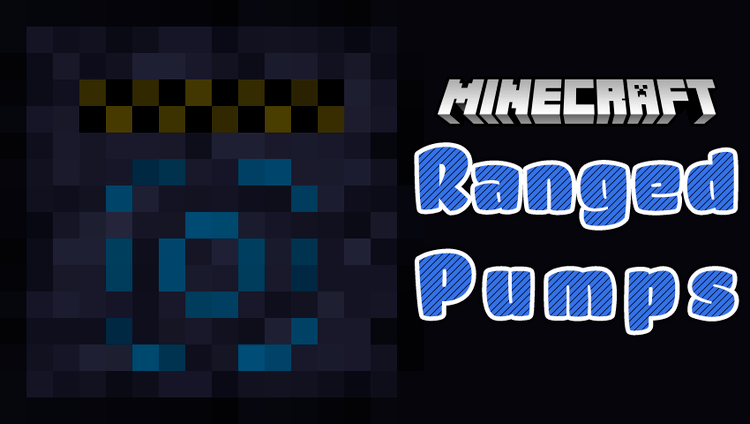 ranged pumps mod for minecraft logo