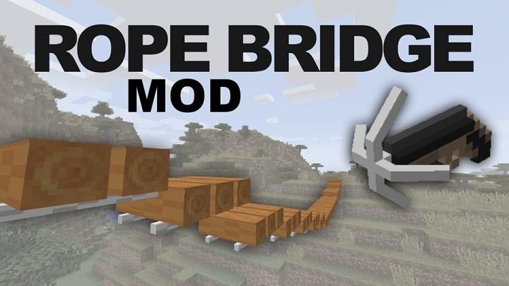 rope-bridge-mod-1-11-21-10-2-for-minecraft Rope Bridge Mod 1.11.2/1.10.2 for Minecraft