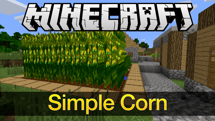 simple-corn-mod-1-11-21-10-2-for-minecraft Simple Corn Mod 1.11.2/1.10.2 for Minecraft