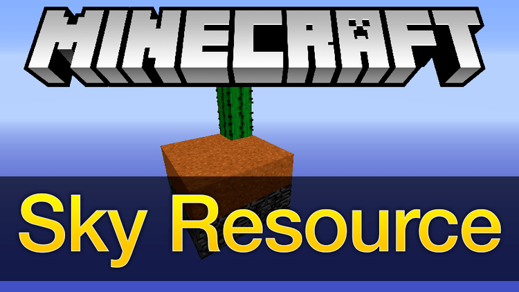 sky resource mod for minecraft logo