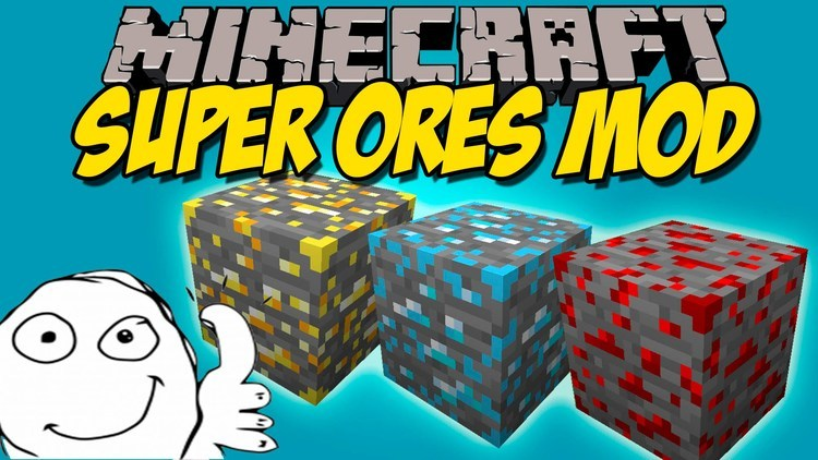super-ores-mod-1-11-21-10-2-for-minecraft Super Ores Mod 1.11.2/1.10.2 for Minecraft