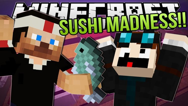 sushi mod for minecraft logo